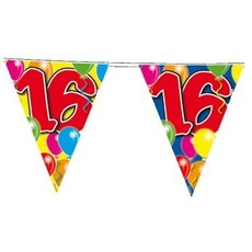 Vlaggenlijnlijn leeftijd '16'