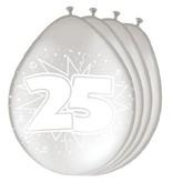 Ballonnen zilver 25 jaar