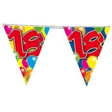 Vlaggenlijn leeftijd '18'