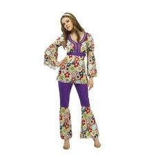Hippie kostuum dames 3-delig Trinity