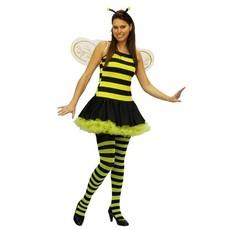Bijenpak verkleedkleren 4-delig