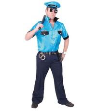 Kostuum macho politie man