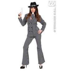 Vrouwelijke gangster kostuum