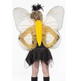 Vlindervleugels volwassen geel