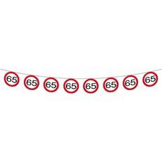 Vlaggenlijn verkeersbord '65'