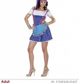 Gypsy jurk lichtblauw