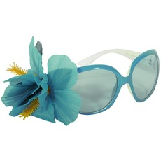 Bril Audry blauw met bloem