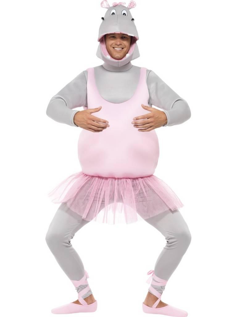 Nijlpaard Ballerina kostuum