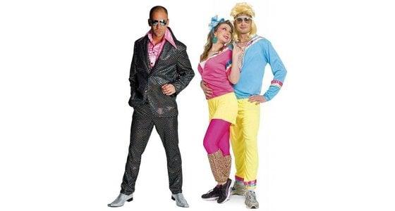 Vaak Nr.1 in Disco kleding | Jaren 80 & 90 outfit - Feestbazaar.nl &ZL98