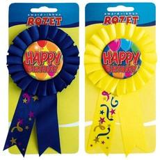 Rozet Happy Birthday