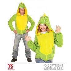 Hoodie vest krokodil