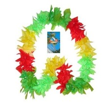 Hawaii krans rood-geel-groen