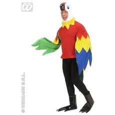 Papegaai kostuum