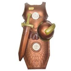 Ridderset 4-delig luxe brons
