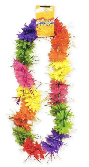 Tropical Hawaiikrans met tinsels