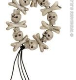 Armband met schedels en botten