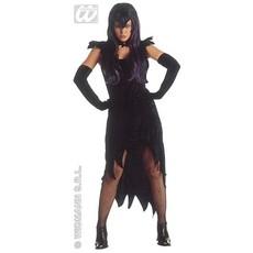 Dark Mistress Vampier kostuum fluweel