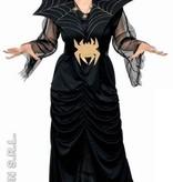 Spider Lady griezel kostuum vrouw