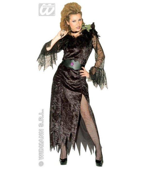 Zwarte Weduwe Griezelkostuum