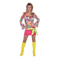 70's Flower Power jurk elite