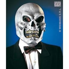 Masker Schedel zilver