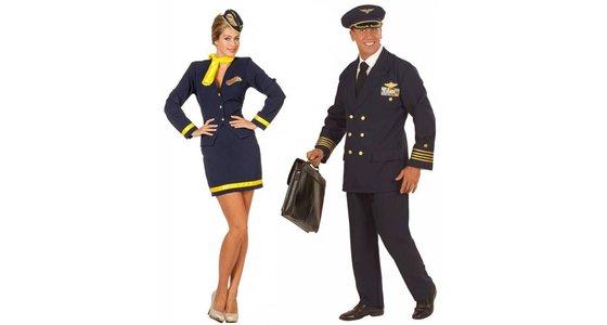 Piloten - Stewardess kleding