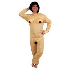 Naakt kostuum vrouw Adam zoekt Eva