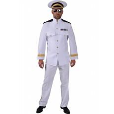 Kapteins kostuum man elite
