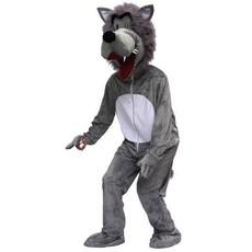Kostuum Wolf Giant Pluche