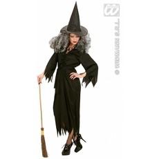 Heks kostuum zwart