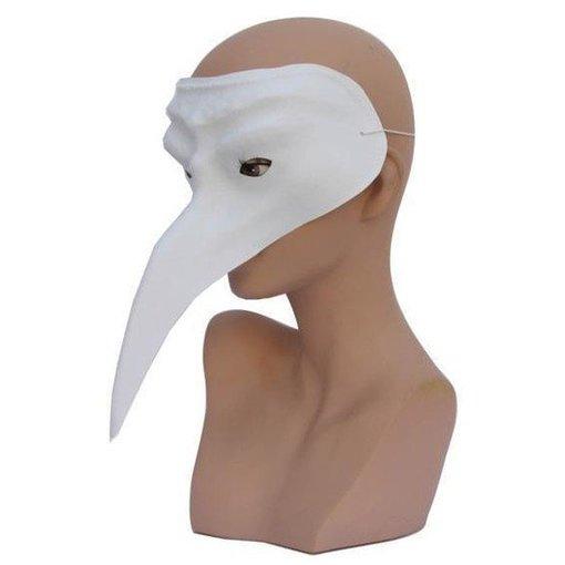 Snavelmasker Venetie wit