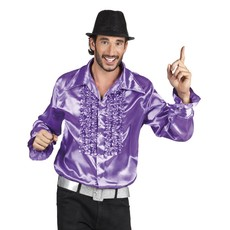 Party shirt paars