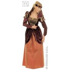 Middeleeuwse koningin verkleedkostuum