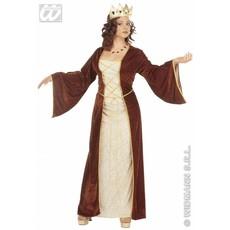 Middeleeuwse prinses kleding fluweel
