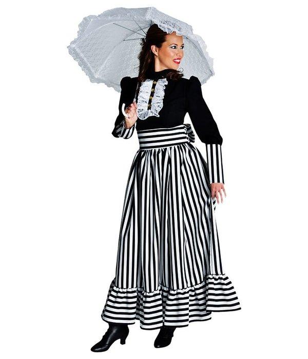 Victoriaanse dame jurk elite