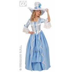 Britse Hofdame kostuum 18e eeuw
