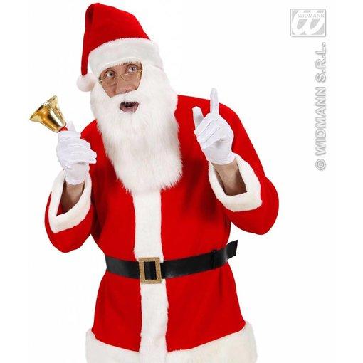 Muts kerstman met baard