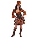 Steampunk kleding vrouw elite