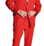 Gala feestkleding rood elite