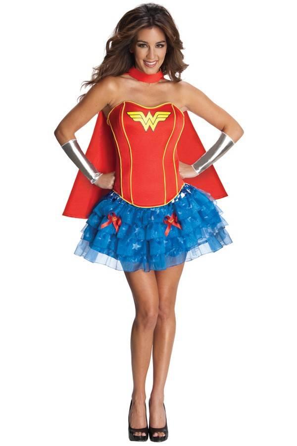 Wonder Woman Corset jurkje
