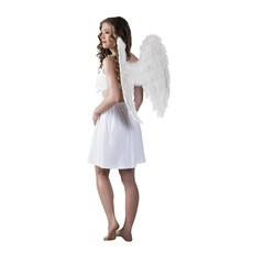 Engelenvleugel wit 65x65cm