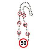 50 Jaar Verkeersbord Ketting