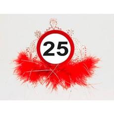 25 Jaar Verkeersbord Tiara