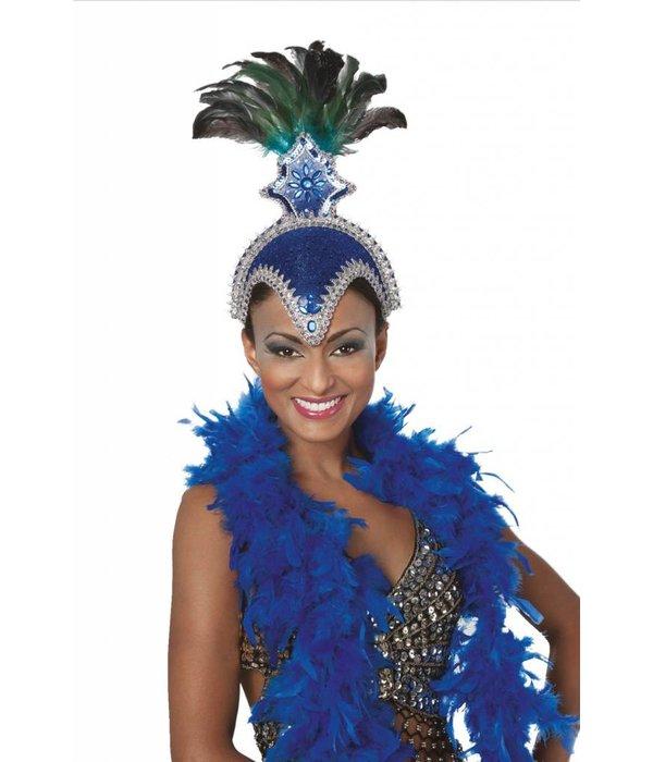 Samba hoofdtooi blauw