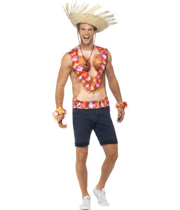 Hawaii shirt mouwloos
