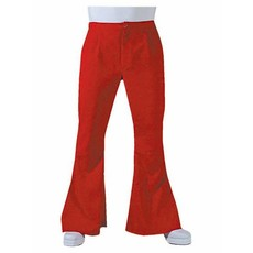 Hippie Disco broek rood man