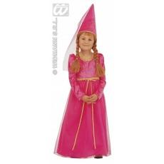 Klein Kasteelmeisje kostuum