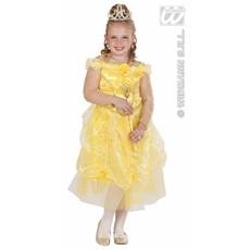 Kleine prinses geel 110cm