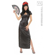 Chinese dames jurk zwart