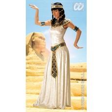 Lange Egyptische keizerin kostuum